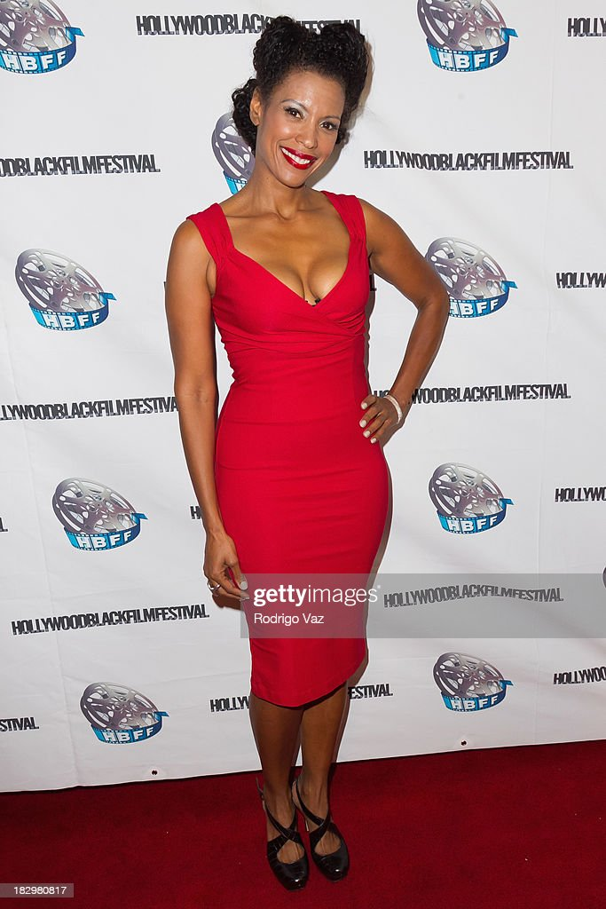 Actress Marie-Francoise Theodore attends the Opening Night for the Hollywood Black Film Festival (HBFF) Arrivals at The Ricardo Montalban Theatre on October 2, 2013 in Hollywood, California.