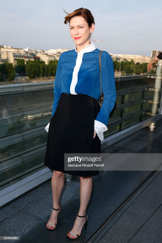 Actress MarieJosee Croze attends the launching of Chloe new Perfume 'Love Story' Held at Institut du Monde Arabe on July 2 2014 in Paris France