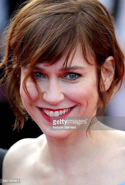 Actress MarieJosee Croze attends 'The Unknown Girl ' Premiere during the 69th annual Cannes Film Festival at the Palais des Festivals on May 18 2016...