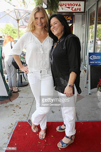 Actress Mariel Hemingway and filmmaker Barbara Kopple are seen around the Sarasota Film Festival 2013 on April 11 2013 in Sarasota Florida