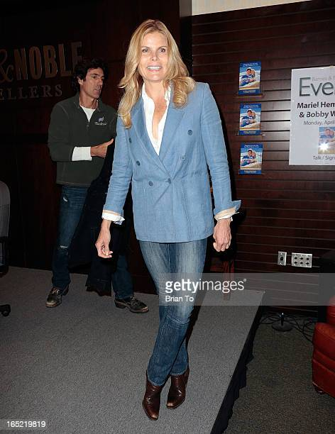 Actress Mariel Hemingway attends book signing for 'The Willing Way' at Barnes Noble bookstore at The Grove on April 1 2013 in Los Angeles California