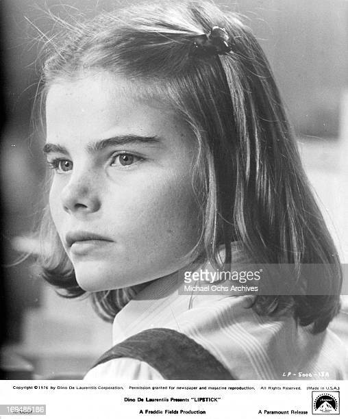 Actress Mariel Hemingway poses for a portrait on the set of 'Lipstick' in circa 1976