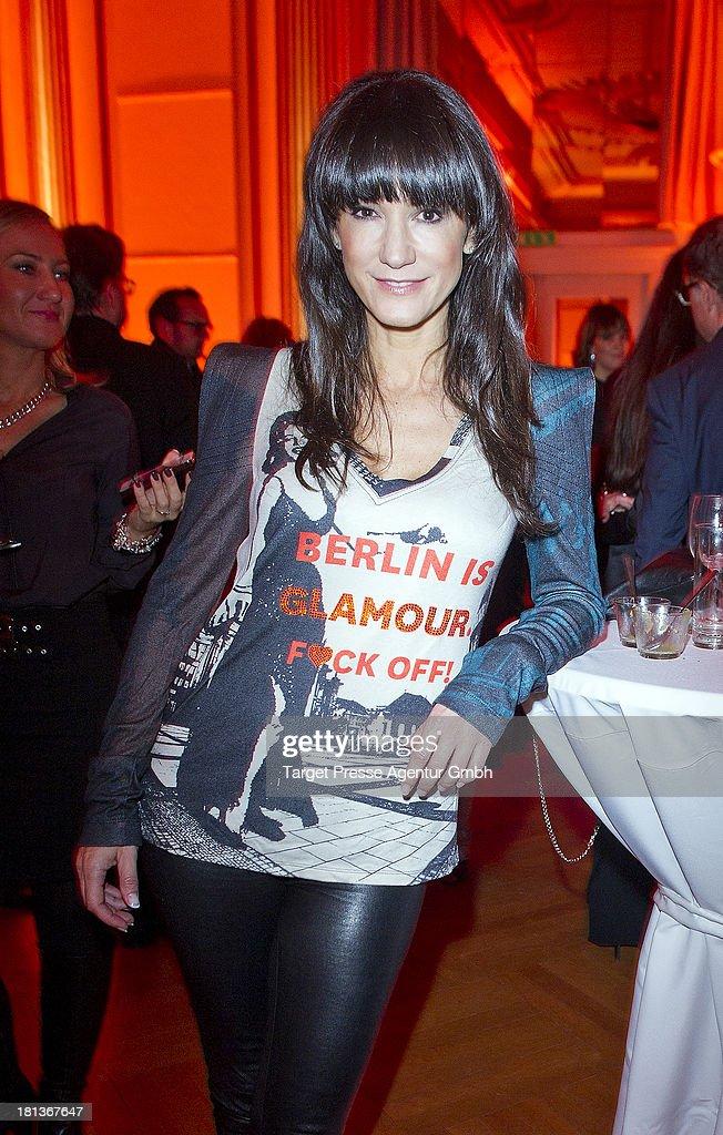Actress Mariella Ahrens attends the 'Fest der Eleganz und Intelligenz' at Villa Siemens on September 20, 2013 in Berlin, Germany.