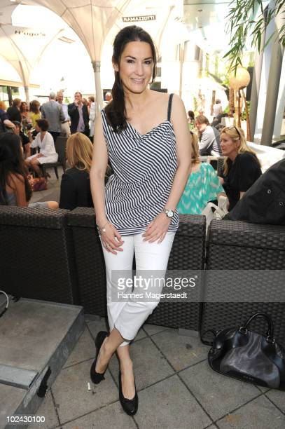 Actress Mariella von FaberCastell attends the Agencies Cocktail during the Munich Film Festival on June 26 2010 in Munich Germany