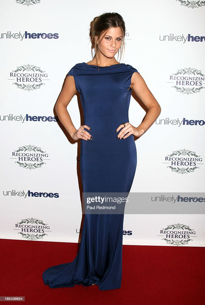 Actress Marielle Jaffe attends 'Unlikely Heroes' Recognizing Heroes Awards Dinner and Gala at The Living Room at The W Hotel on October 19, 2013 in Los Angeles, California.