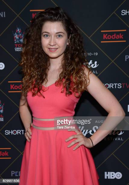 Actress Marietta Melrose attends the 2017 HollyShorts Film Festival Opening Night Gala at TCL Chinese 6 Theatres on August 10 2017 in Hollywood...