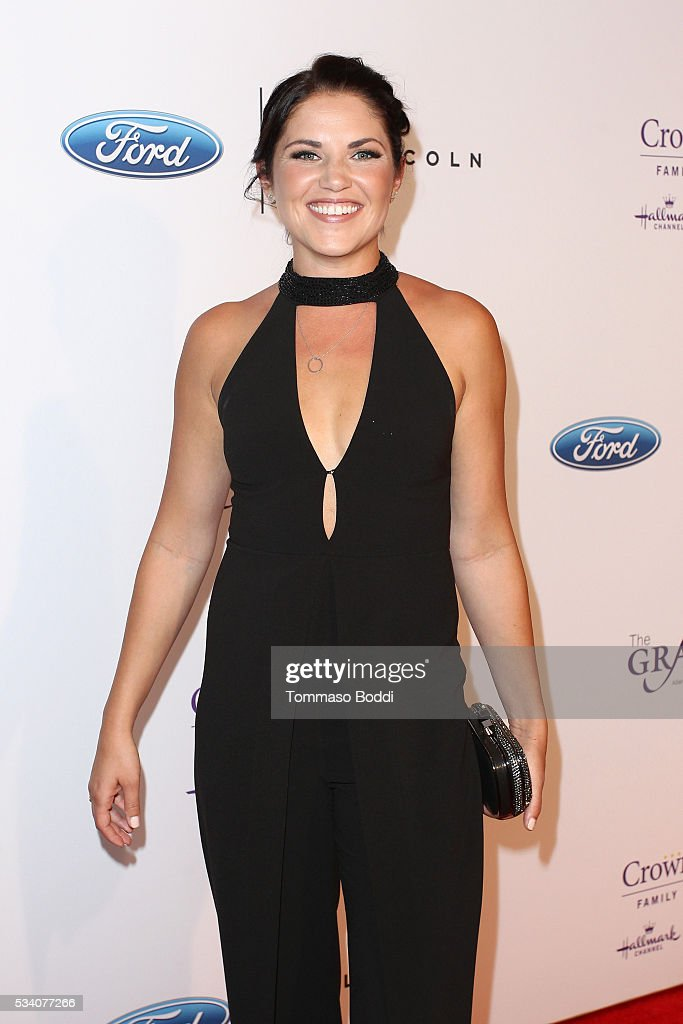 Actress <a gi-track='captionPersonalityLinkClicked' href=/galleries/search?phrase=Marika+Dominczyk&family=editorial&specificpeople=797591 ng-click='$event.stopPropagation()'>Marika Dominczyk</a> attends the 41st Annual Gracie Awards at Regent Beverly Wilshire Hotel on May 24, 2016 in Beverly Hills, California.