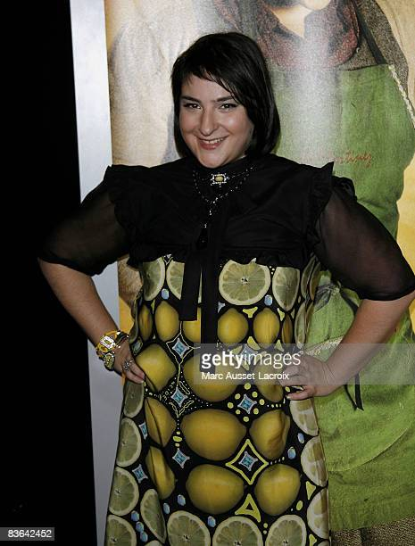 Actress Marilou Berry attends the premiere of 'Vilaine' at the UGC les Halles on November 10 2008 in Paris France