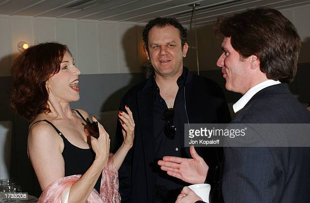 Actress Marilu Henner actor John C Reilly and director Rob Marshall attend 'The Brunch Honoring Chicago Director Rob Marshall' at Ian Schrager's...