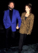 Actress Marilu Henner and husband Director Robert Lieberman attend the 'Neil Bogart Memorial Fund Gala Honoring Clarence Avant' on November 13 1993...