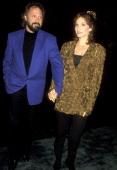 Actress Marilu Henner and husband Director Robert Lieberman attend the 'Neil Bogart Memorial Fund Gala Honoring Clarence Avant' on November 13 1993...