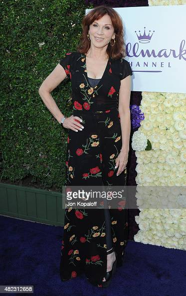 Actress Marilu Henner arrives at 2015 Summer TCA Tour Hallmark Channel and Hallmark Movies And Mysteries on July 29 2015 in Beverly Hills California