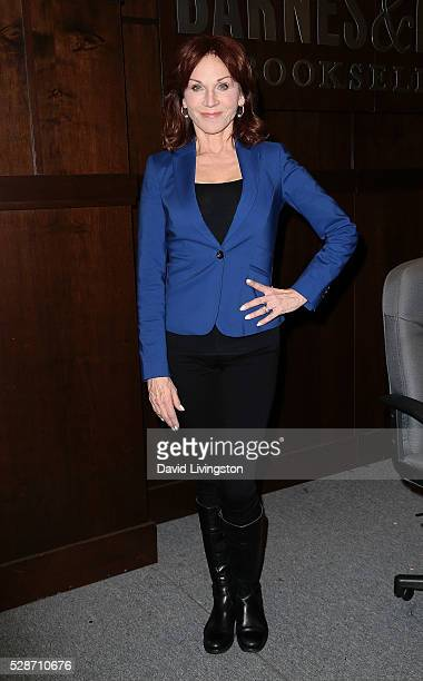 Actress Marilu Henner attends a signing for her book 'Changing Normal' at Barnes Noble at The Grove on May 6 2016 in Los Angeles California