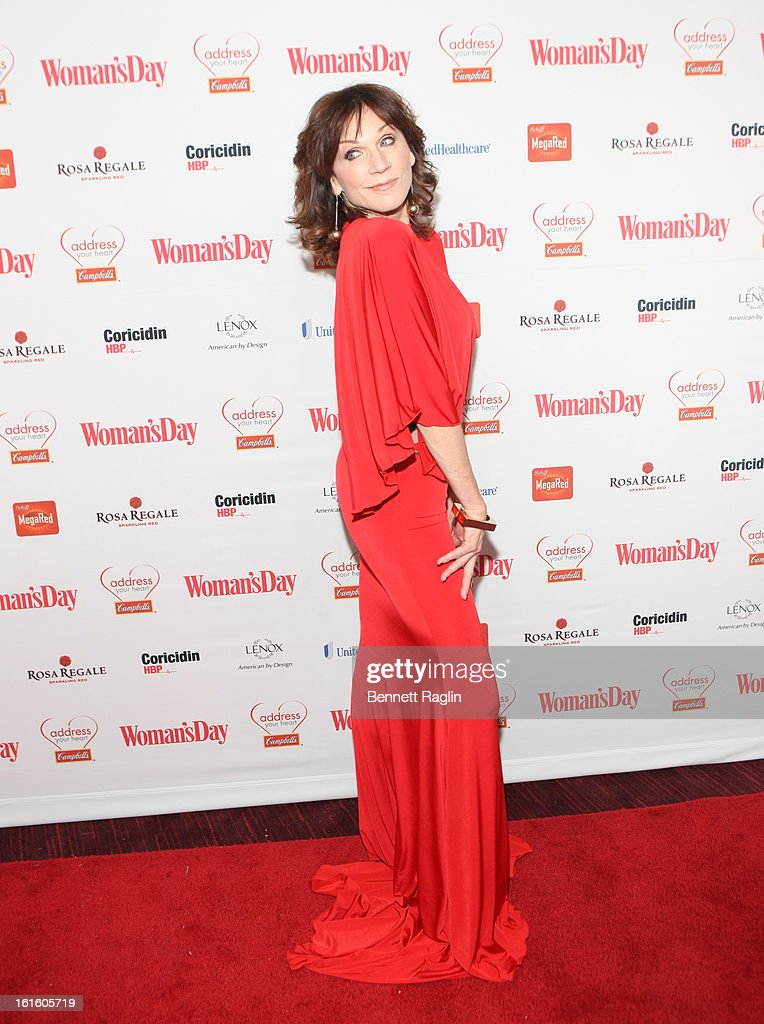 Actress Marilu Henner attends the 10th Annual Red Dress Awards at Jazz at Lincoln Center on February 12, 2013 in New York City.