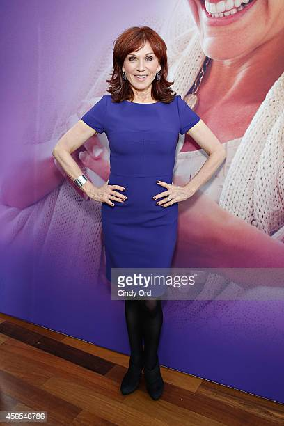 Actress Marilu Henner attends the Always Discreet event with Marilu Henner at Penthouse 45 on October 2 2014 in New York City