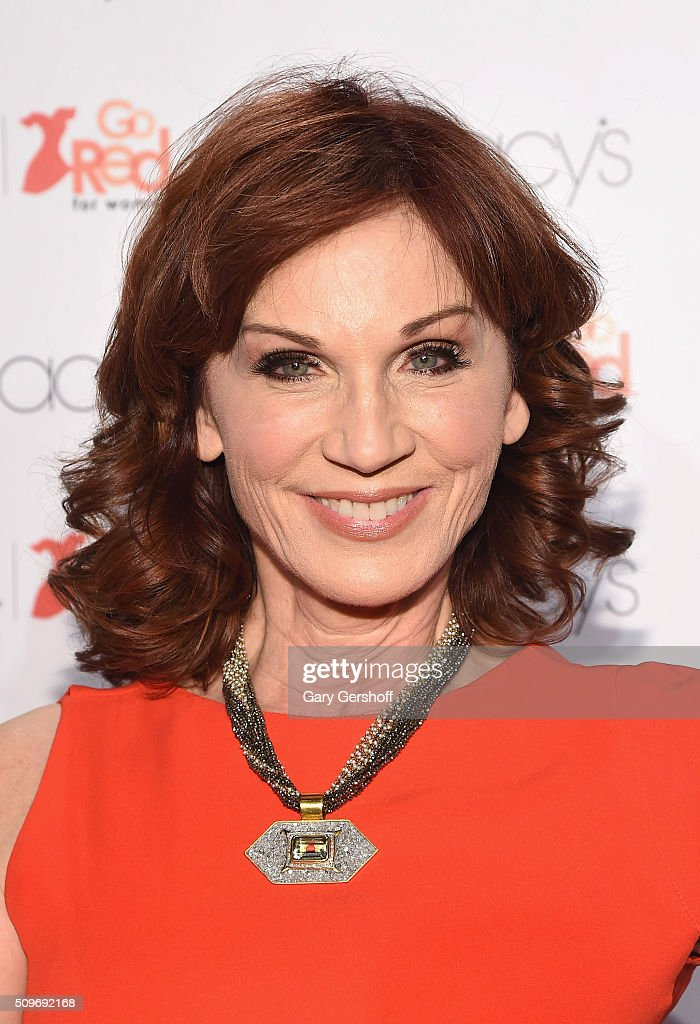 Actress <a gi-track='captionPersonalityLinkClicked' href=/galleries/search?phrase=Marilu+Henner&family=editorial&specificpeople=213140 ng-click='$event.stopPropagation()'>Marilu Henner</a> attends The American Heart Association's Go Red for Women Dress Collection 2016 at Skylight at Moynihan Station on February 11, 2016 in New York City.