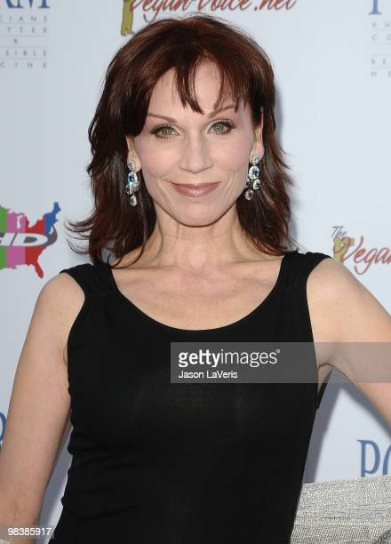 Actress Marilu Henner attends the Art Of Compassion PCRM 25th anniversary gala at The Lot on April 10 2010 in West Hollywood California