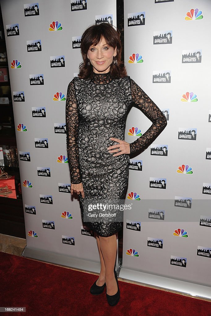 Actress Marilu Henner attends 'The Celebrity Apprentice All-Stars' Red Carpet at Trump Tower on May 7, 2013 in New York City.