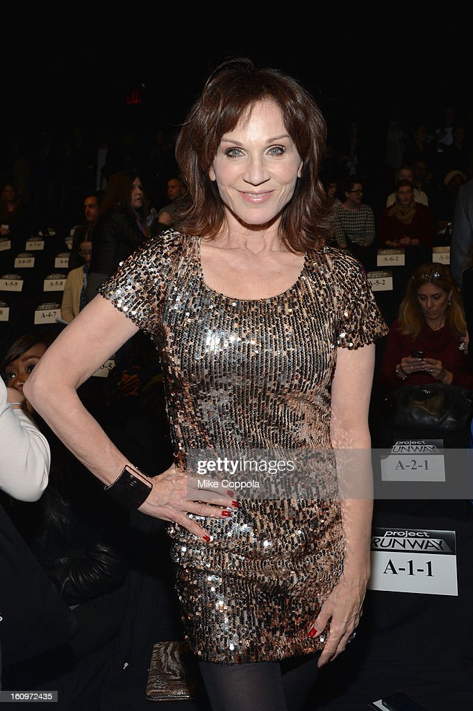 Actress Marilu Henner attends the Project Runway Fall 2013 fashion show during Mercedes-Benz Fashion Week at The Theatre at Lincoln Center on February 8, 2013 in New York City.
