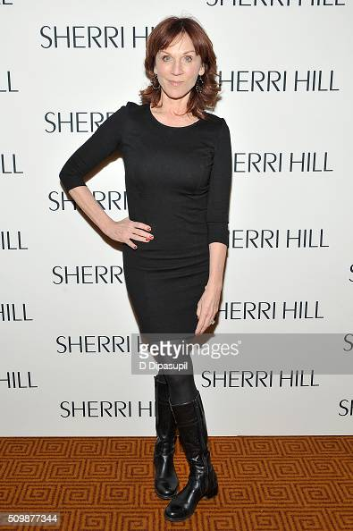 Actress Marilu Henner attends the Sherri Hill Fall 2016 fashion show during New York Fashion Week The Shows on February 12 2016 in New York City
