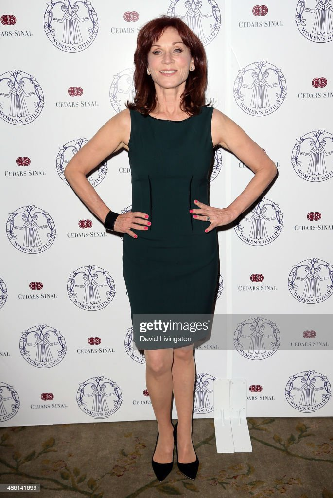 Actress Marilu Henner attends the Women's Guild CedarsSinai Luncheon at the Beverly Hills Hotel on April 22 2014 in Beverly Hills California