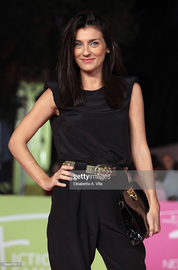 Actress Marilu Pipitone attends the 2012 RomaFictionFest Closing Cerimony at Auditorium Parco della Musica on October 5, 2012 in Rome, Italy.