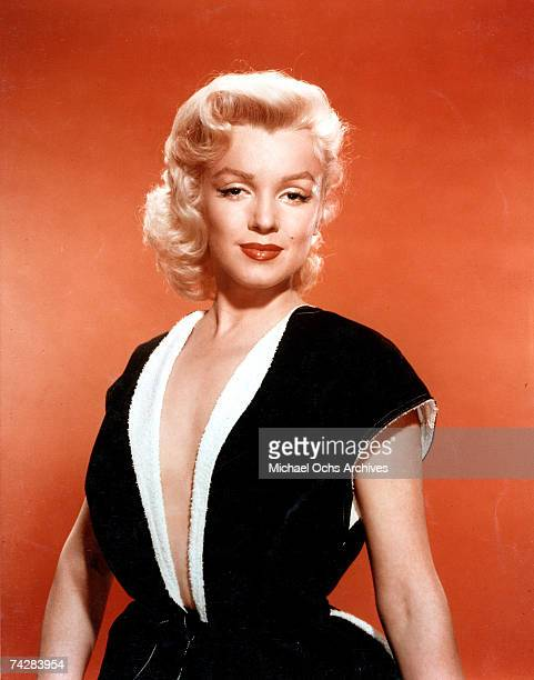 Actress Marilyn Monroe poses for a portrait in circa 1951