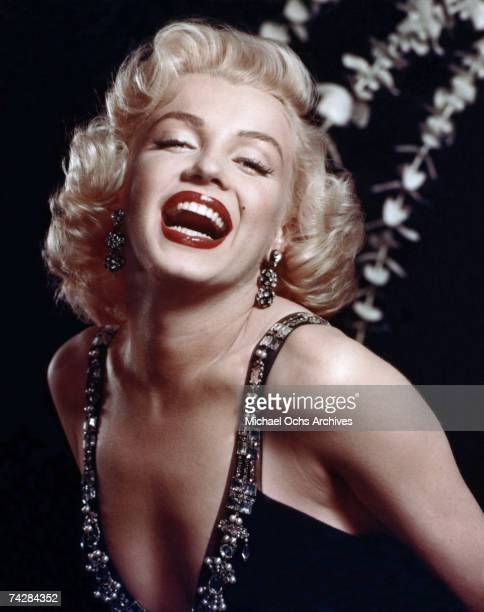 Actress Marilyn Monroe poses for a portrait in circa 1952