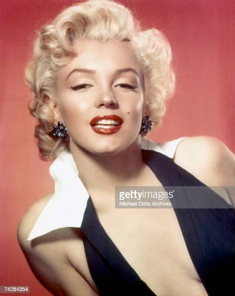 Actress Marilyn Monroe poses for a portrait in circa 1953