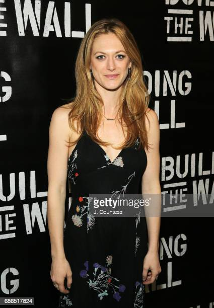 Actress Marin Ireland attends the opening night of 'Building The Wall' at New World Stages on May 21 2017 in New York City