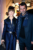 Actress Marina Fois and companion director Eric Lartigau attend the Annual Charity Dinner hosted by the AEM Association Children of the World for...