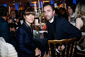 Actress marina Fois and Edouard Schneider attend the Annual Charity Dinner hosted by the AEM Association Children of the World for Rwanda Held at...