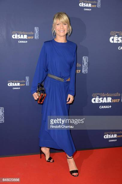 Actress Marina Fois arrives at the Cesar Film Awards Ceremony at Salle Pleyel on February 24 2017 in Paris France