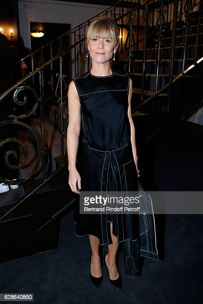 Actress Marina Fois attends the Annual Charity Dinner hosted by the AEM Association Children of the World for Rwanda at Pavillon Ledoyen on December...