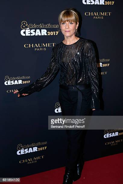 Actress Marina Fois attends the 'Cesar Revelations 2017' Photocall and Cocktail at Chaumet on January 16 2017 in Paris France
