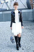 Actress marina Fois attends the Louis Vuitton show as part of the Paris Fashion Week Womenswear Fall/Winter 2015/2016 on March 11 2015 in Paris France