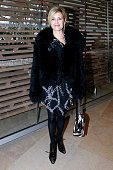 Actress Marina Fois attends the Louis Vuitton show as part of the Paris Fashion Week Womenswear Fall/Winter 2016/2017 Held at Louis Vuitton...