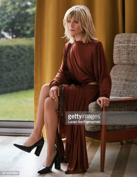 Actress Marina Fois is photographed for Madame Figaro on March 1 2017 in Paris France Dress and shoes rings PUBLISHED IMAGE CREDIT MUST READ Lucian...