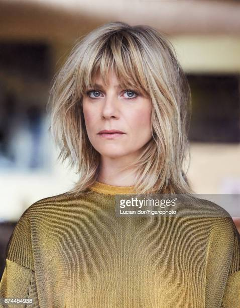 Actress Marina Fois is photographed for Madame Figaro on March 1 2017 in Paris France Sweater COVER IMAGE CREDIT MUST READ Lucian...