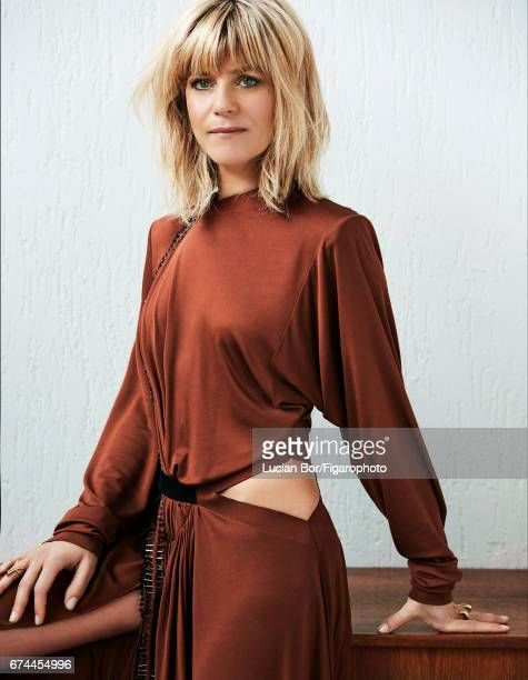Actress Marina Fois is photographed for Madame Figaro on March 1 2017 in Paris France Dress rings PUBLISHED IMAGE CREDIT MUST READ Lucian...