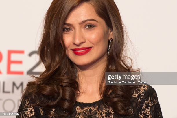 Actress Marina Golbahari attends the Opening Ceremony of the 9th Film Festival Lumiere on October 14 2017 in Lyon France