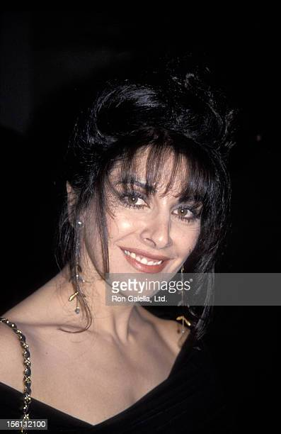 Actress Marina Sirtis attending 'Education First Benefit Gala' on February 10 1992 at the Hotel Nikko in Los AngelesCalifornia