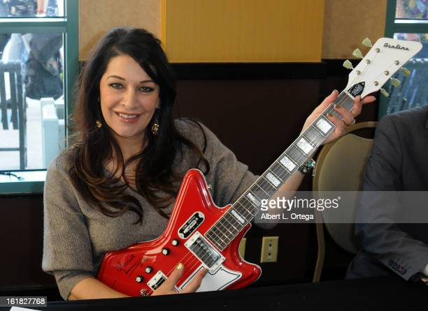 Actress Marina Sirtis attends Creation Entertainment's Grand Slam Convention The Star Trek And SciFi Summit held at Burbank Marriott Convention...