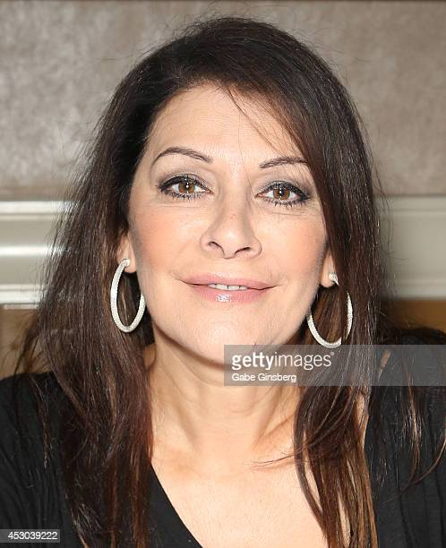 Actress Marina Sirtis attends the 13th annual Star Trek convention at the Rio Hotel Casino on August 1 2014 in Las Vegas Nevada
