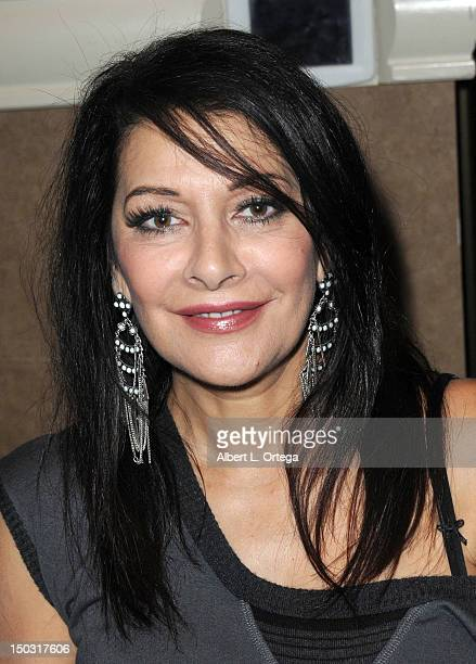 Actress Marina Sirtis participates in the 11th Annual Official Star Trek Convention day 4 held at the Rio Hotel Casino on August 12 2012 in Las Vegas...