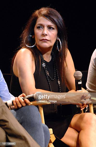 Actress Marina Sirtis participates in the 11th Annual Official Star Trek Convention day 3 held at the Rio Hotel Casino on August 11 2012 in Las Vegas...