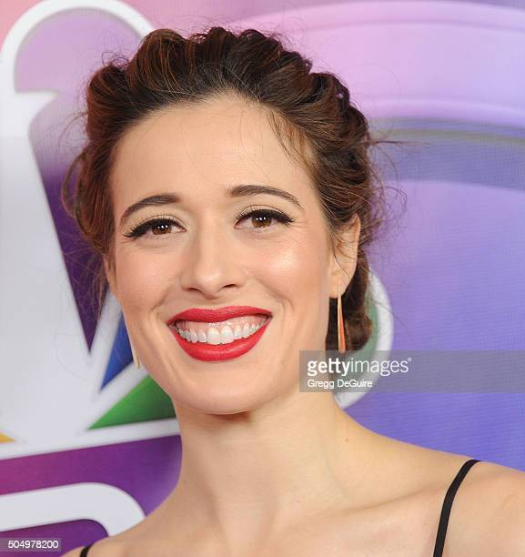 Actress Marina Squerciati arrives at the 2016 NBCUniversal Winter TCA Press Tour at Langham Hotel on January 13 2016 in Pasadena California