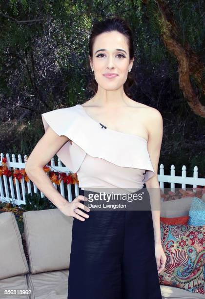 Actress Marina Squerciati attends Hallmark's 'Home Family' at Universal Studios Hollywood on October 2 2017 in Universal City California