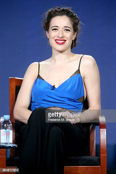 Actress Marina Squerciati of 'Chicago PD' speaks onstage during the 'Chicago Fire' 'Chicago PD' and 'Chicago Med' panel discussion at the...