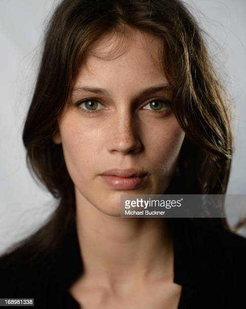 Actress Marine Vacth poses for a portrait at the Variety Studio at the 66th Annual Cannes Film Festival at Chivas House on May 18 2013 in Cannes...